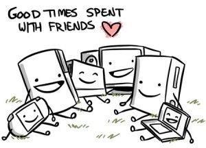 computer-friends-technology