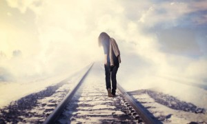 mood-railroad-girl-rails-alone-sky-fog-694x417